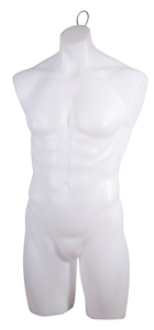 Unbreakables Male Torso Form with Loop and Flange